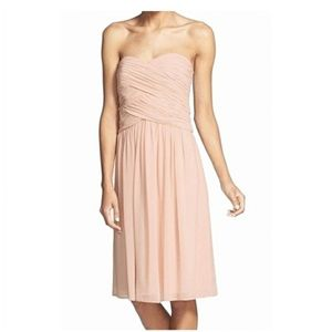 SALE 8/$35  TEVOLIO STRAPLESS FIT AND FLARE DRESS